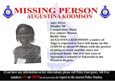Police seek help to find five missing persons
