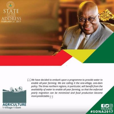 Quotes from Akufo-Addo's State of the Nation Address