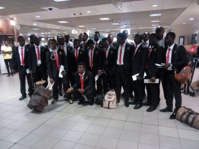 Asante Kotoko enplane to Congo ahead of CARA CAF Confederation clash