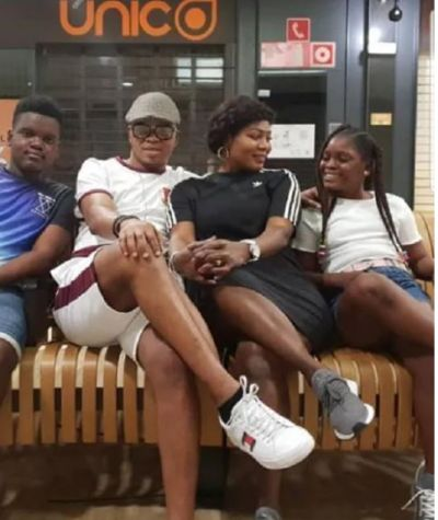 Obinim and family chill together in Spain