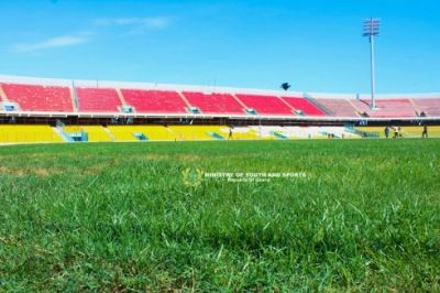 Accra Sports Stadium gets ready for 2018 Women's AFCON