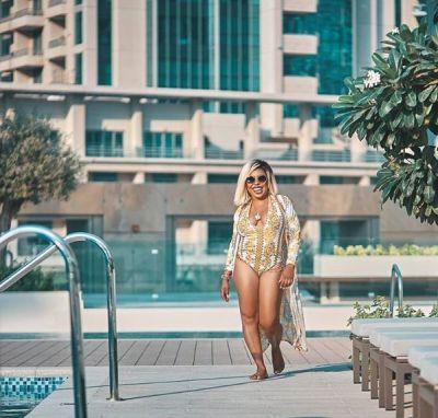 Afia Schwarzenegger is the hottest bikini model in Ghana now
