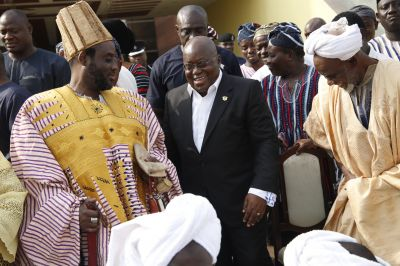 Thank you for your leadership, vision for Dagbon - Abudus to Akufo-Addo