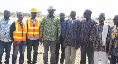 Frimpong Boateng commissions 10 dams in four regions