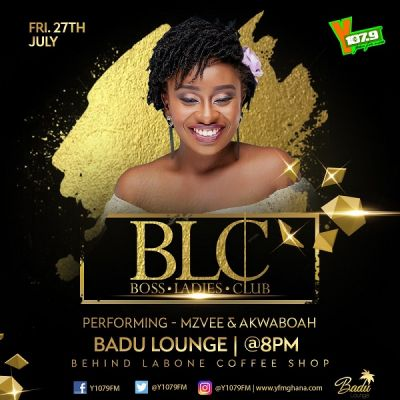 MzVee, Akwaboah others to thrill fans at YFM's BLC