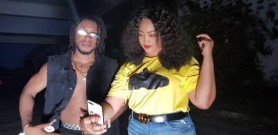 Nigerian musician Lloys Kayana in cozy love affair with TV presenter