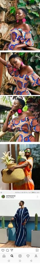 Hammat Montia looks elegant in African Print