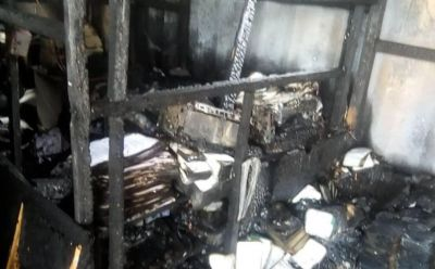 GIS offices at Elubo completely burnt