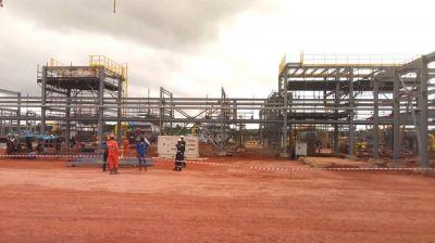 Expansion works on Takoradi Gas Station 70% complete