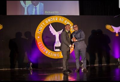 Quick Angels Limited CEO wins 40 under 40 investment category award