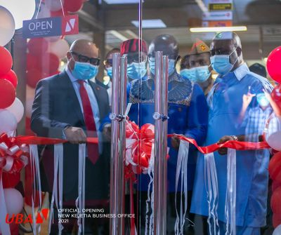 UBA Ghana opens modern business office in Kejetia Central Market to reach unbanked population