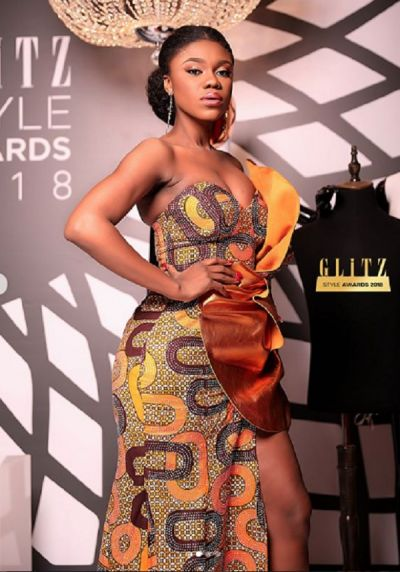 Becca wins Artiste of the year at Glitz Style Awards