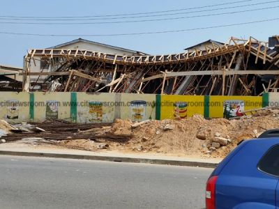 7 injured, 1 missing after uncompleted warehouse collapses