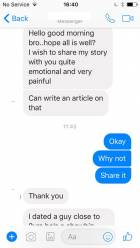 Lady accuses a celebrity of dumping her after spending all her life savings on him