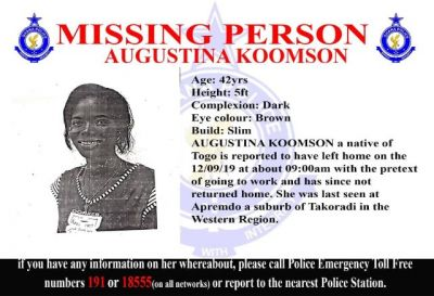 4 females go missing in Takoradi again