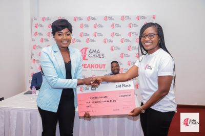 Winners of AmaCares 'Start-up Fund' competition get GHc55k funding