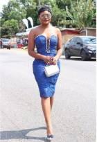 Bridesmaids duties: Sandra Ankobiah's slayed it at Becca's wedding