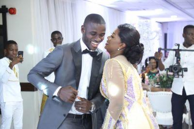 Jonathan Mensah dumps bachelorhood; marries girlfriend Kafui Tinglafo