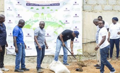Dangote Cement Ghana plants trees in fight against climate change