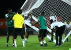Photos: Black Stars final training session ahead of AFCON opener against Uganda