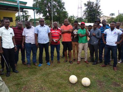 Bibiani/Anhwiaso/ Bekwai MP, Alfred Obeng-Boateng donates to Bibiani Gold Stars FC