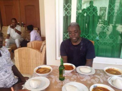 Deported Kweku Adoboli welcomed by family in Accra