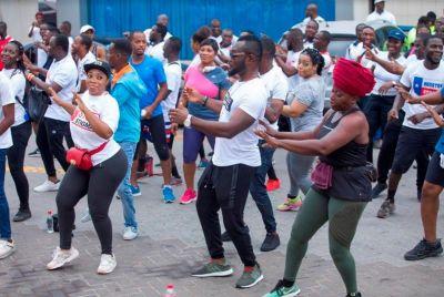 Thousands flood Okyeame Kwame's Hepatitis B Health Walk and 'Free Screening'