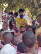 Ketu South, North residents receive free nose masks from Dash AM foundation