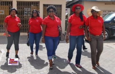 Crystal Ladies support Accra Children's Hospital