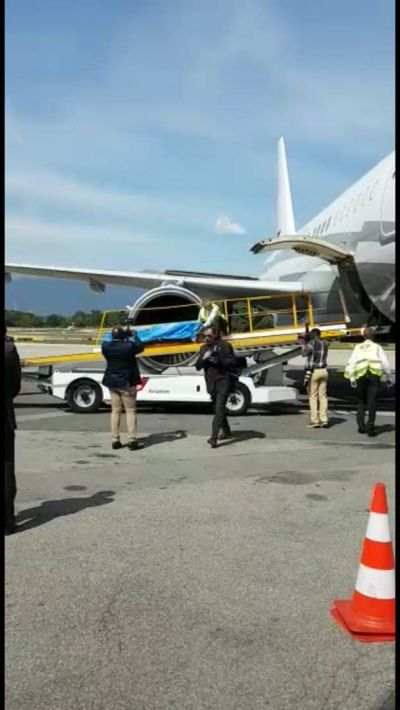 Mortal remains of Kofi Annan leaves Geneva for Accra