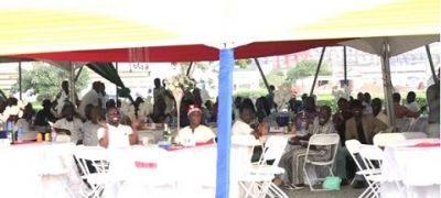 Tema Shipyard holds end of year thanksgiving session