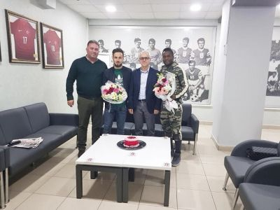 Turkish side Balikesirspor celebrates Mahatma Otoo on birthday