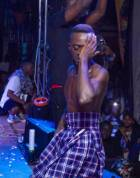 Six packs show off: Lilwin bares it all at 'Road2konnect Concert