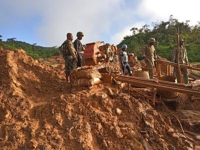 Operation Vanguard apprehends 20 Chinese suspected illegal miners