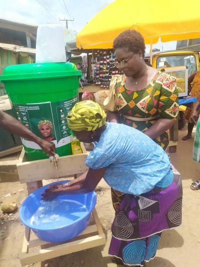 Coronavirus: NDC parliamentary candidate leads medical experts to sensitize Jomoro residents