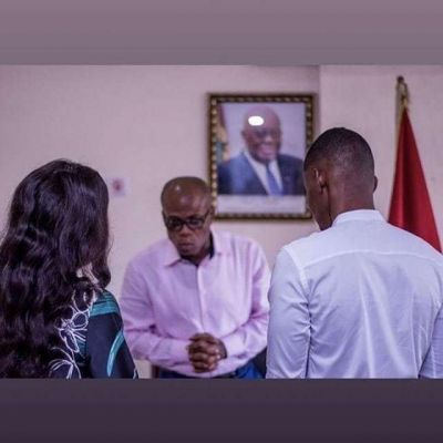 Court Signing: Young Ghanaian millionaire, Ibrah One is married