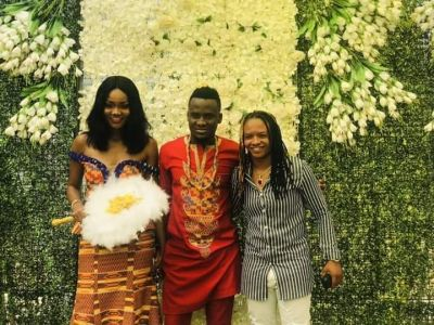 Black Stars player David Accam weds Black Queens striker Florence Dadson
