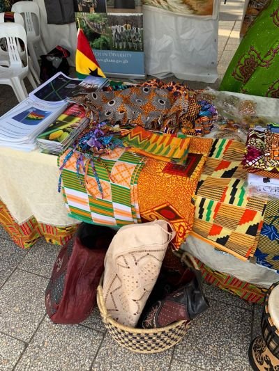 Ghana represents gracefully at  National Multicultural Festival at Canberra