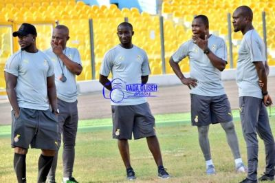 CK Akonnor's first training session as Black Stars assistant coach