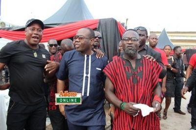 Songo and Kwesi Nyantakyi unite at KABA's one week memorial