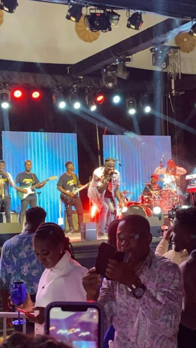 Stonebwoy's 'Anloga Junction' concert brings out a host of Ghanaian celebrities