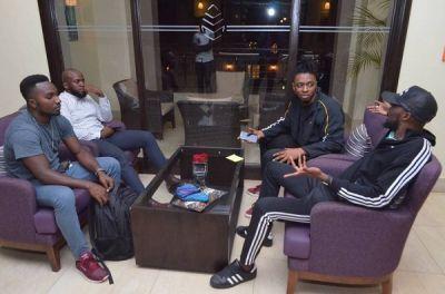 Magnom arrives in Kampala ahead of concert