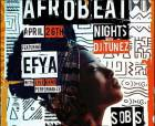 Efya for Afrobeat nights with DJ Tunes in NYC, April 26