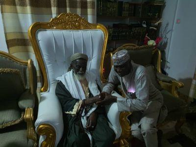 George Afriyie pays courtesy call on Chief Imam ahead of GFA elections