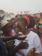 NDC Women's Organizer celebrates Boxing Day with Kayayes