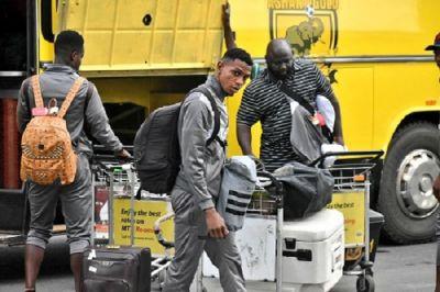 AshantiGold arrive in Ghana after CAF Confed Cup exit
