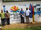 GOC joins Australian High Commission to unveil 2018 Commonwealth Games painting