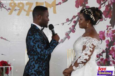 Adjetey Anang, wife say 'I do' again as Joy Beauty & Bridal Fair opens