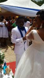 Prophet Seth Frimpong finds 'comfort again' in new wife