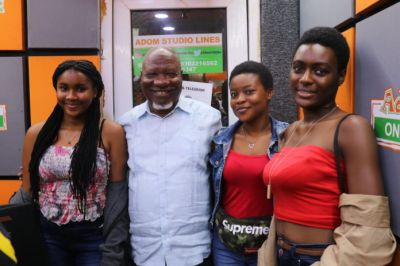 Allotey Jacobs flaunts beautiful granddaughters